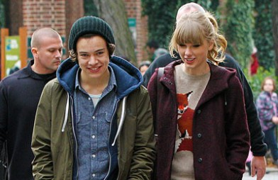 Taylor Swift and Harry Styles seen leaving the Central Park Zoo in NYC