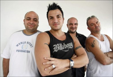 Danny Andre, Peter Andre, Andrew Andre & Chris Andre