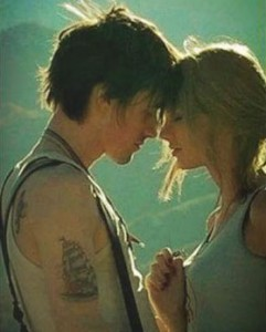 A still from Taylor Swift's new video 'I Knew You Were Trouble'