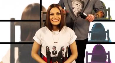 Jessie's hair-raising dare - Red Nose Day 2013b
