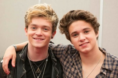 Conor and Brad from the Vamps Photo Jack Williams, Vanity Van
