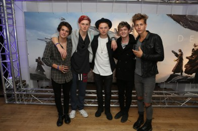 DESTINY GAME LAUNCH: Tinie Tempah, Pro Green, The Vamps