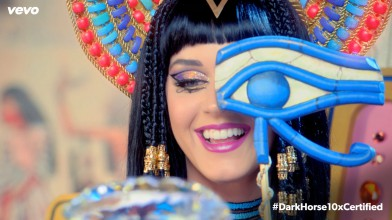 Katy Perry's 'Dark Horse' music video hits one billion views