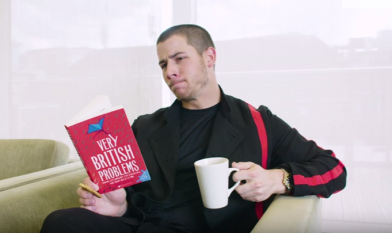 Nick Jonas british problems